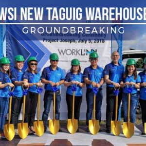 WSI New Taguig Warehouse Groundbreaking