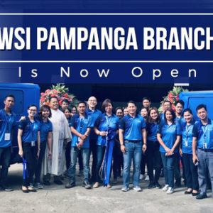 WSI Pampanga Branch Is Now Open