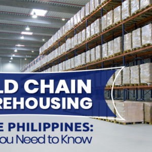 Cold Chain Warehousing in the Philippines: What You Need to Know