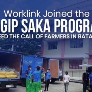 Worklink Joined the Sagip Saka Program to Heed the Call of Farmers in Batangas