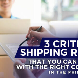3 Critical Shipping Risks that You Can Avoid with the Right Courier in the Philippines